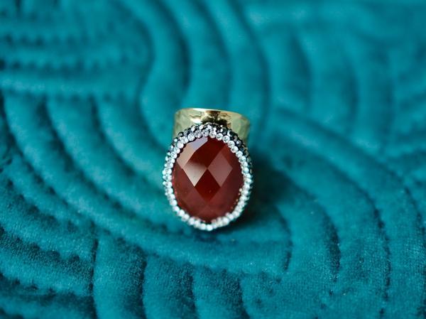 Bilde av Nectar - Broadway ring - Jaspis