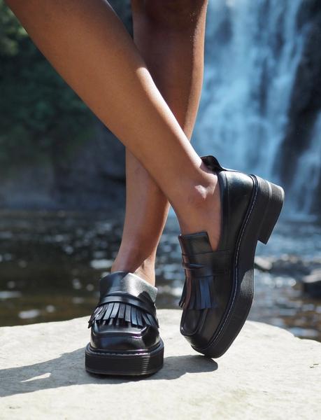 Bilde av Billi Bi - Loafers w/fringes - Black