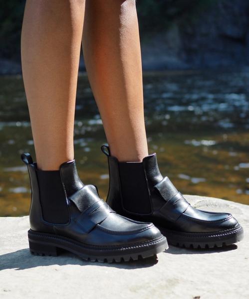 Bilde av Billi Bi - Loafer Boots - Black