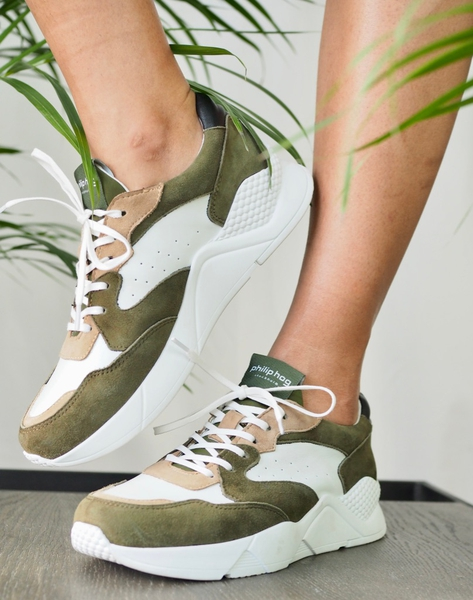 Bilde av Philip Hog - Tova Sneakers - Olive