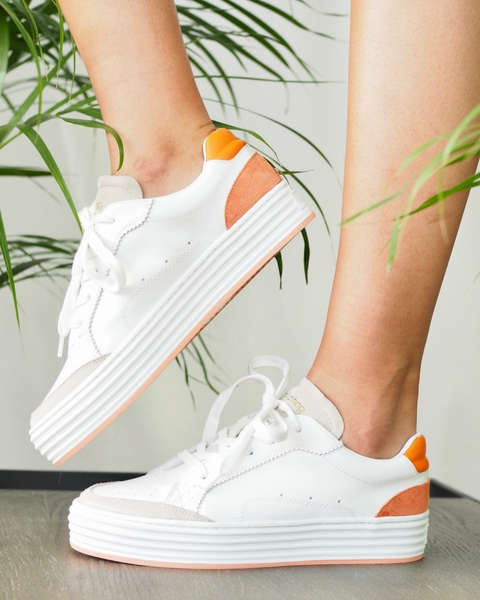 Bilde av Philip Hog - Majken Sneakers - Orange