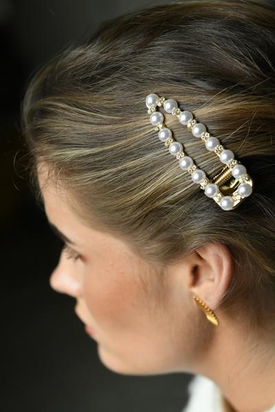 Bilde av Nectar - Barrette large Pearls&Diamonds