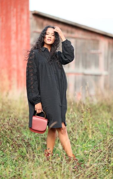 Bilde av Copenhagen Muse - Madelyn Dress - Black