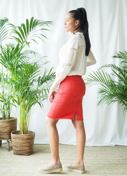Bilde av Mapp - Katy Skirt - Red