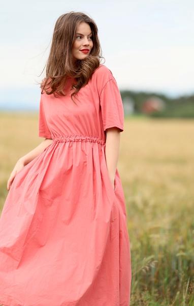 Bilde av Nectar Clothing - Lina Dress - Rose Pepper