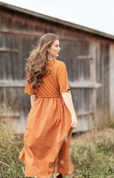 Bilde av Nectar Clothing - Lina Dress - Moroccan Clay