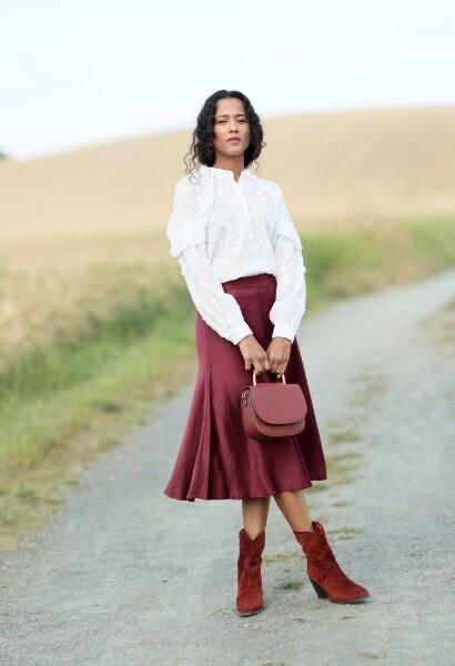 Bilde av Coster - Midi Skirt Port Outfit