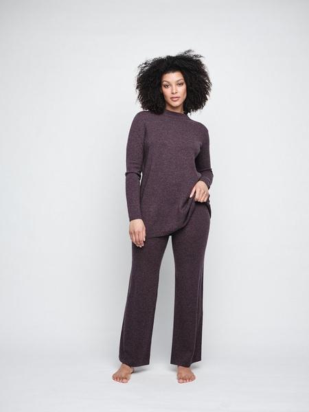 Bilde av Ella&Il - Ellinor Wool Sweater - Burgundy