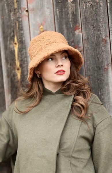 Bilde av Beck Söndergaard - Vora Bucket Hat - Camel