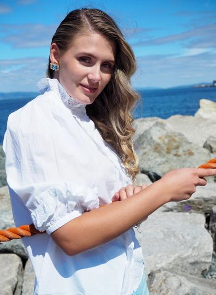 Bilde av MISSMAYA - Natalie Blouse Outfit