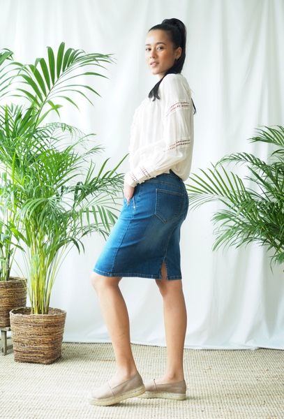 Bilde av Mapp - Katy Denim Skirt - Blue Used
