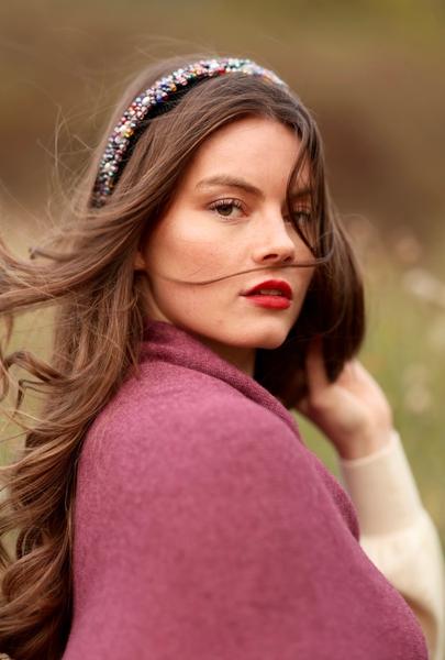 Bilde av Nectar Clothing - Ella Poncho - Grape