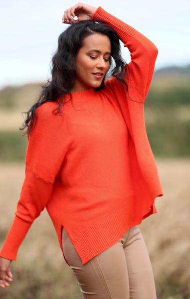 Bilde av Nectar Clothing - Lillian Sweater - Candy Apple