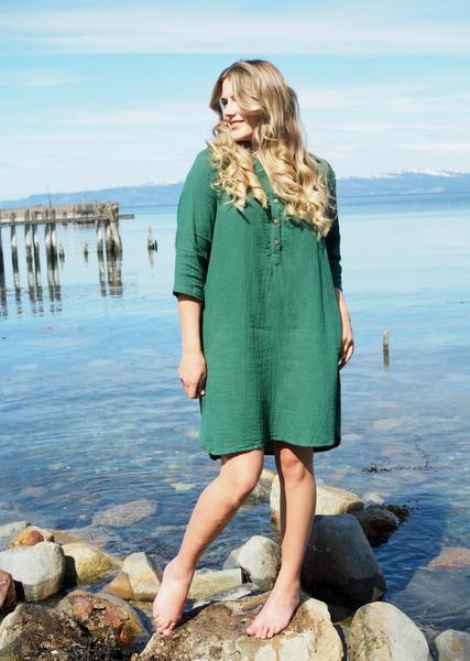 Bilde av MISSMAYA - Aisha Dress - Basil