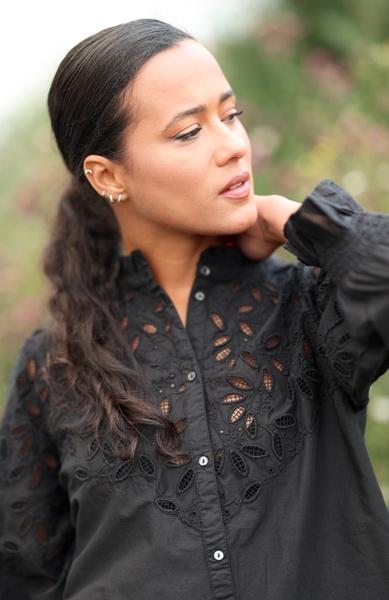 Bilde av Part Two - Kilja Shirt - Black