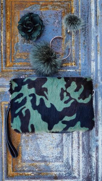 Bilde av Nectar - Fury Pompom Bracelet - Khaki Green