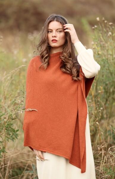 Bilde av Nectar Clothing - Ella Poncho - Rust