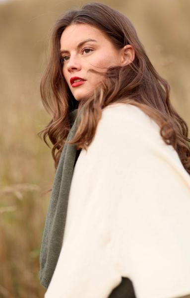 Bilde av Nectar Clothing - Ella Poncho - Pearl