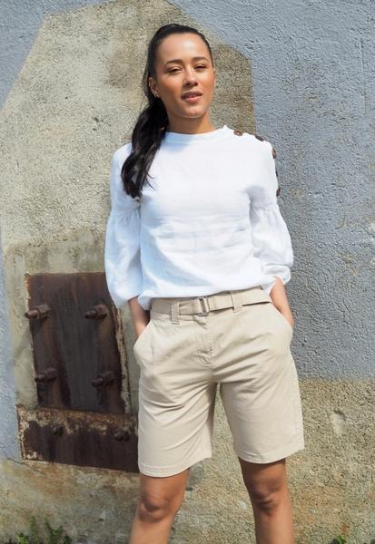 Bilde av Levee Room - Nobella 2 Shorts - Sand