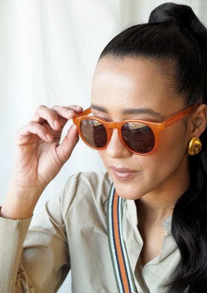 Bilde av Part Two - Hamda Sunglasses - Adobe