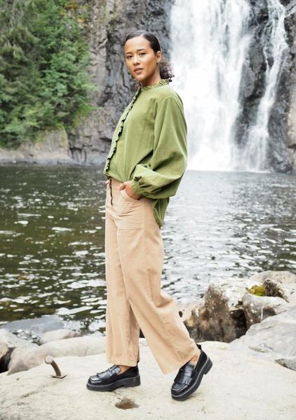 Bilde av Nectar Clothing - Milano Babycord Pants - Wheat