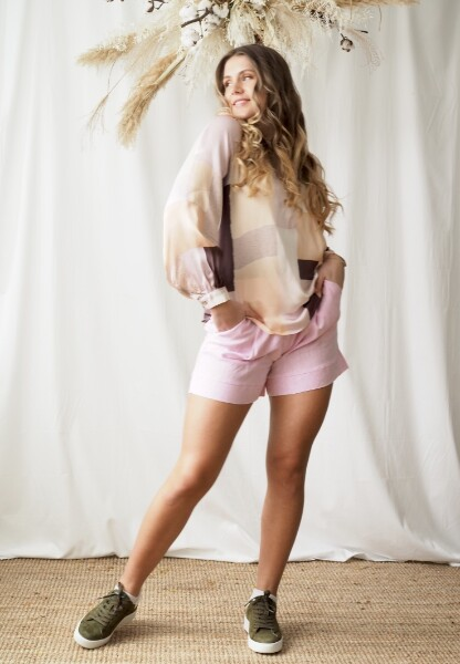 Bilde av Katrin Uri - Carmel Petra Shorts - Pale Pink