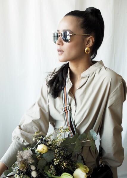 Bilde av Part Two - Hani Sunglasses - Gold