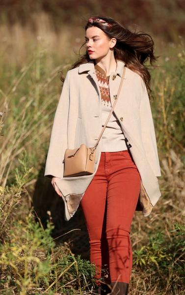 Bilde av Part Two - Kamille Coat Outfit