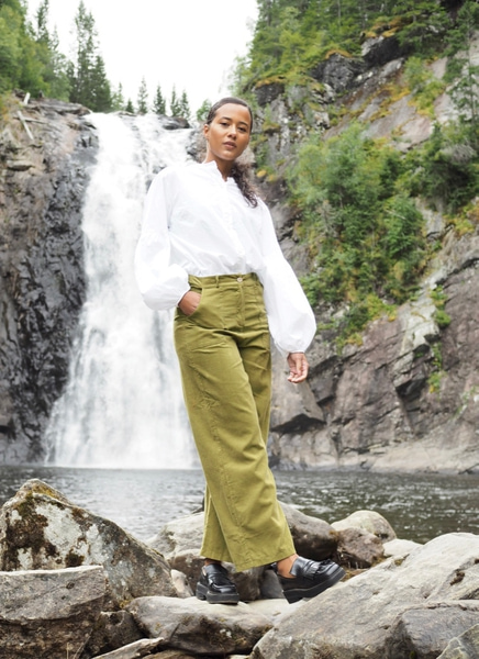 Bilde av Nectar Clothing - Milano Babycord Pants - Laurel
