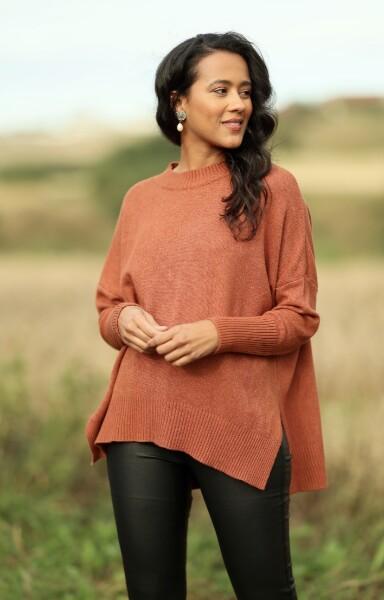 Bilde av Nectar Clothing - Lillian Sweater - Moroccan Clay