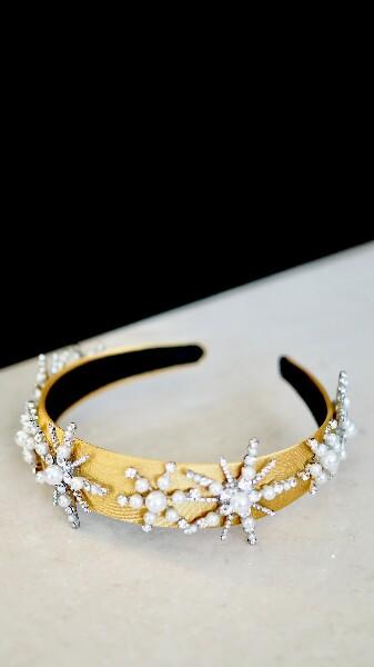 Bilde av Nectar - Snowcrystal Headband - Yellow