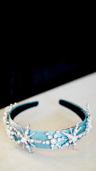 Bilde av Nectar - Snowcrystal Headband - Iceblue