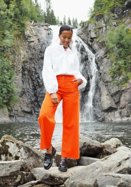 Bilde av Nectar Clothing - Milano Babycord Pants - Pumpkin