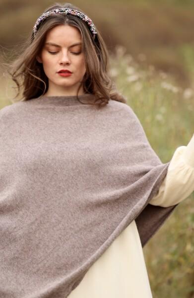 Bilde av Nectar Clothing - Ella Poncho - Mauve