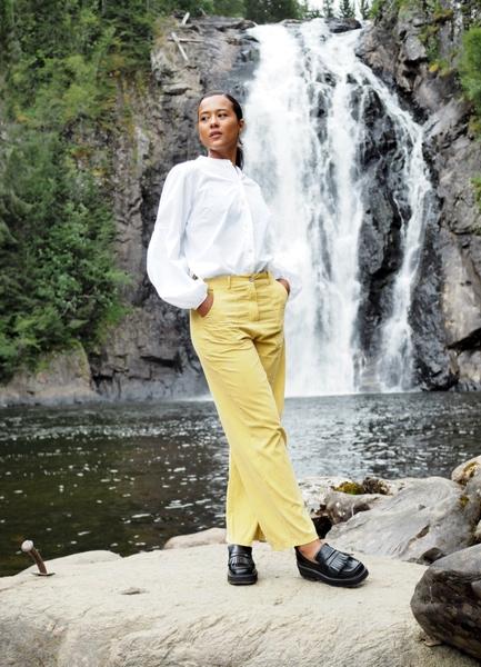 Bilde av Nectar Clothing - Milano Babycord Pants - Corn