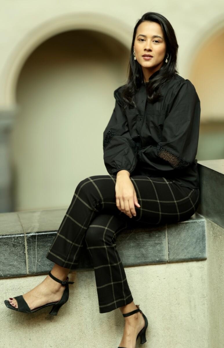A View - Tiffany Shirt - Black
