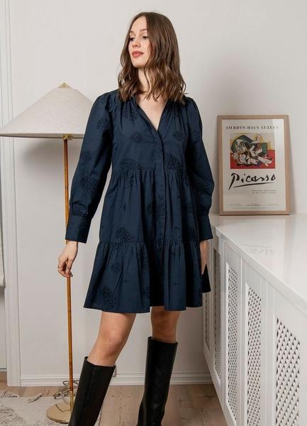 Bilde av MISSMAYA - Mille Dress - Cobalt