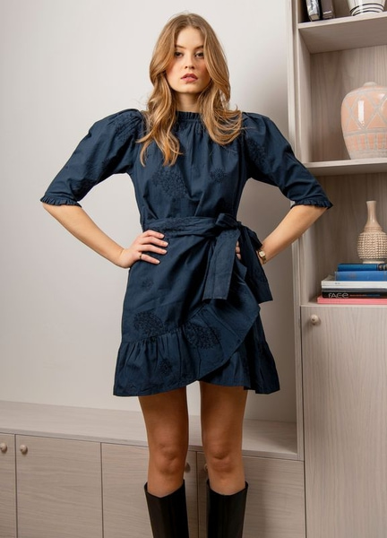 Bilde av MISSMAYA - Poppy Dress - Cobalt
