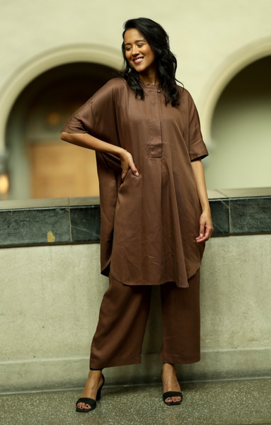 Bilde av Masai - Noalta Dress - Chestnut