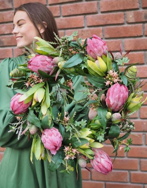 Bilde av Mr Plant - Blomsterkrans - Pink