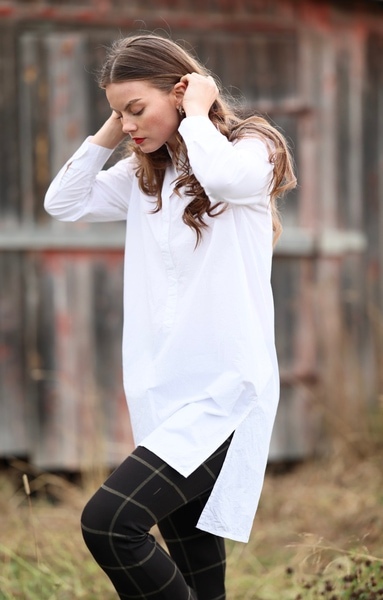 Bilde av Masai - Nolena Shirt Dress - White