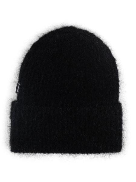 Bilde av ella&il - silje mohair hat - black