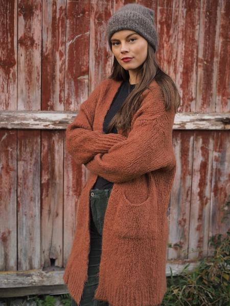 Bilde av ella&il - silje mohair hat - brown
