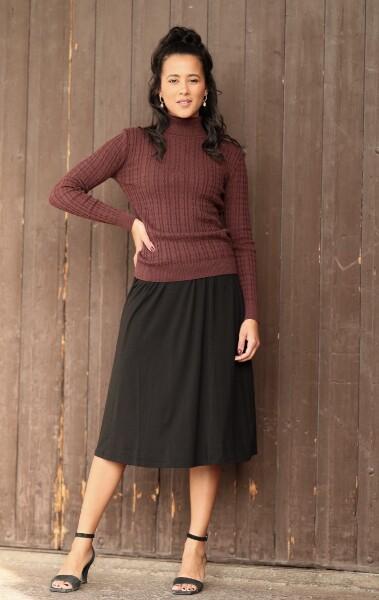 Bilde av Basic Apparel - Joline Skirt - Black