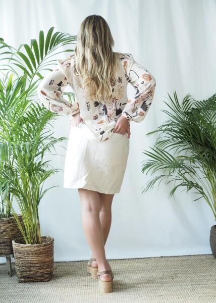 Bilde av Katrin Uri - Sienna Skirt - Cream