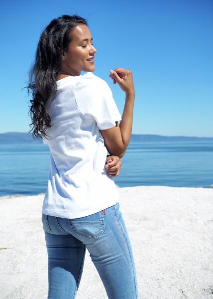 Bilde av Part Two - Imalea T-Shirt - Bright White