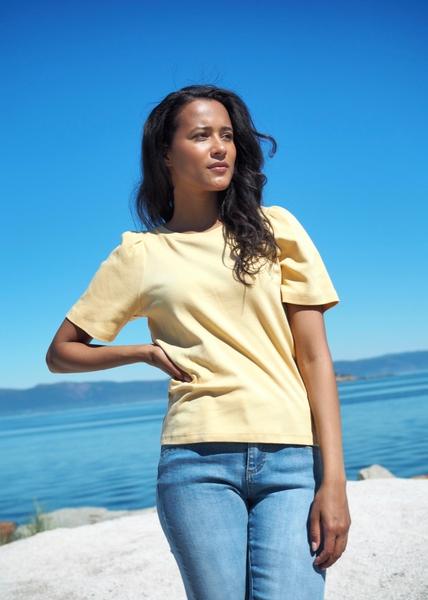 Bilde av Part Two - Imalea T-Shirt - New Wheat