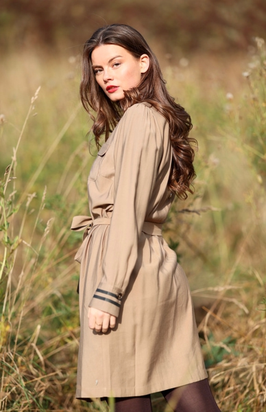 Bilde av Coster - Dress w/Belt - Sand