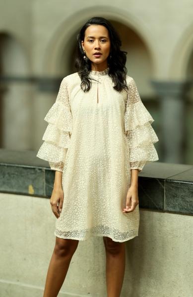 Bilde av Part Two - Liddy Dress - Burnout Cement