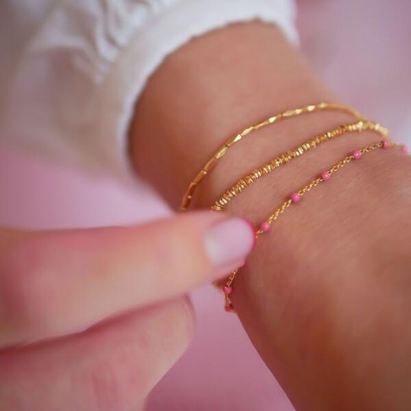 Bilde av Enamel - Bracelet Lola - Coral